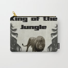 The King of The Jungle Carry-All Pouch