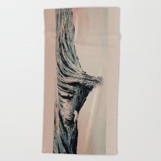 The WAVE #2 Beach Towel