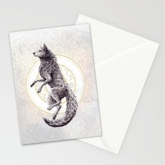 Shades of the moon Stationery Cards