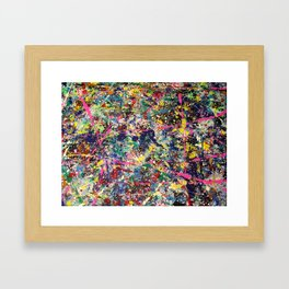 Splash 1 Framed Art Print