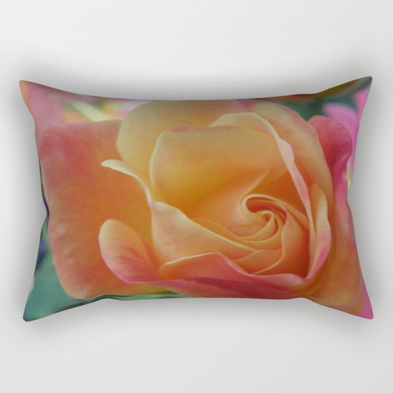 Rose Shade Pastels Rectangular Pillow