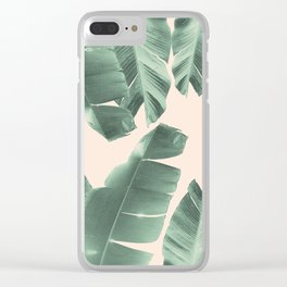 Banana Leaves Tropical Vibes #2 #foliage #decor #art #society6 Clear iPhone Case