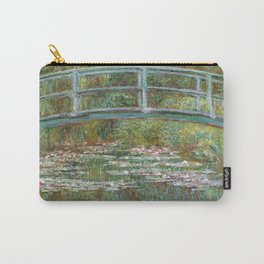 Claude Monet - Bridge over a Pond of Water Lilies (1899) Carry-All Pouch