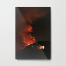 El Diablo Fire Metal Print