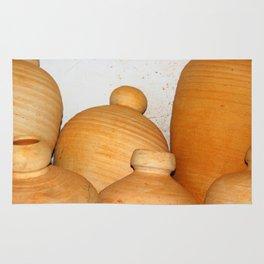 Terra Cotta Pots Rug
