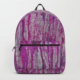 Encaustic Streaks (pink) Backpack