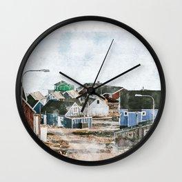 Greenland Wall Clock