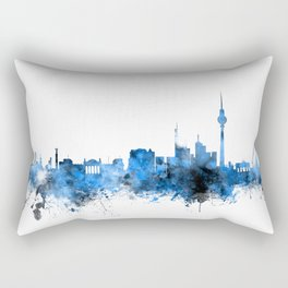 Berlin Germany Skyline Rectangular Pillow