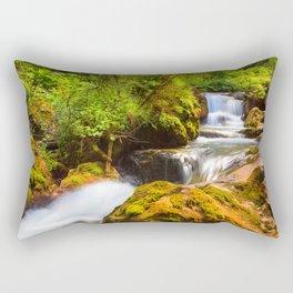 Swiss rapids. Rectangular Pillow