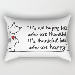 Thankful Rectangular Pillow