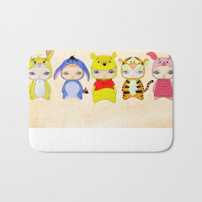 A Boy - Winnie and friends Bath Mat