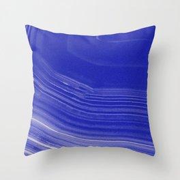 PANACEA BLUE Throw Pillow
