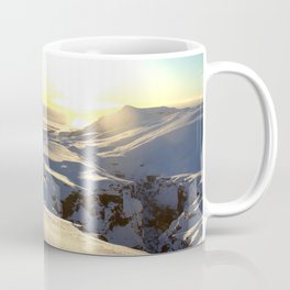 Skogarfoss Landscape Coffee Mug