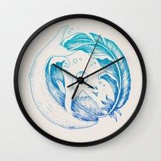 Fly High/Swim Deep Wall Clock