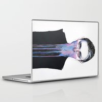 agnes Laptop & iPad Skins featuring my opinion about you by agnes-cecile