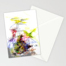 Flying Home (Glitch Remix) Stationery Cards