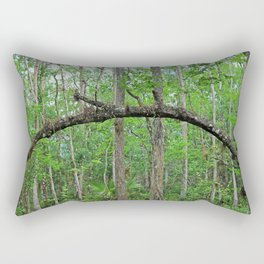 The Arch in Six Mile Rectangular Pillow