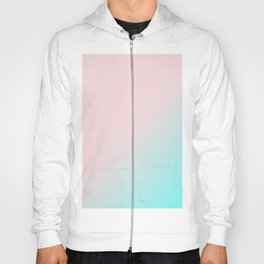 Simply Pink & Teal Color Gradient - Mix And Match With Simplicity of Life Hoody