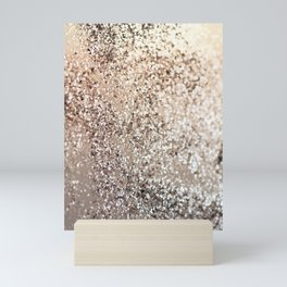 Sparkling GOLD Lady Glitter #1 #decor #art #society6 Mini Art Print