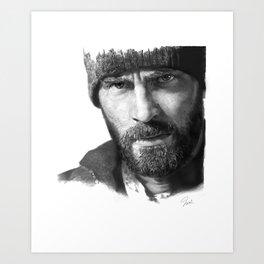 Curtis everett (snowpiercer) Art Print
