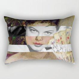 Berthe Morisot's At the Ball & Ava Gardner Rectangular Pillow