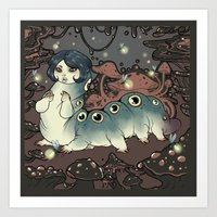 From the Forest Floor Art Print