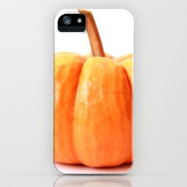 Pumpkin Photography iPhone Case