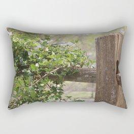 Fenced In Rectangular Pillow