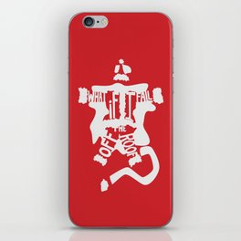 What if I Fall off the Roof? -The Santa Clause iPhone Skin