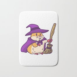 witch hamster Bath Mat