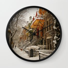 The Great Silence Wall Clock