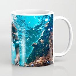 Diving in Spain Coffee Mug