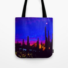 Sunset in Phoenix, Arizona Tote Bag