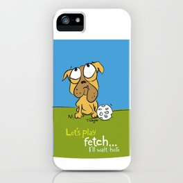 Fetch iPhone Case