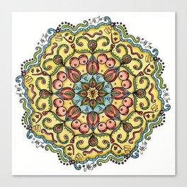 #MeToo Mandala Canvas Print
