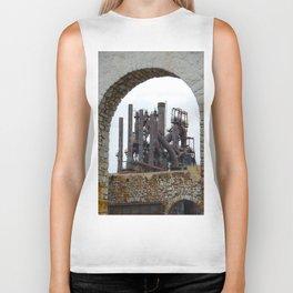 Bethlehem Steel Blast Furnace 6 Biker Tank