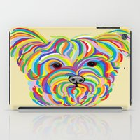 yorkie iPad Cases featuring Yorkshire Terrier - YORKIE! by EloiseArt