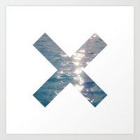the xx Art Prints featuring XX  by Sara Eshak