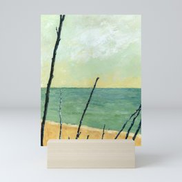 Branches on the Beach Mini Art Print