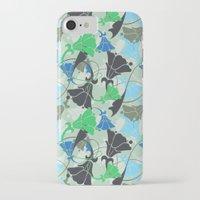 nouveau iPhone & iPod Cases featuring Nouveau Nouveau by Jacqueline Maldonado