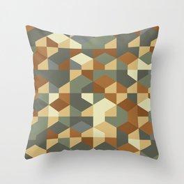 Abstract Geometric Artwork 51 Throw Pillow