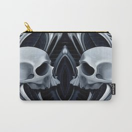biomech skull 10 Carry-All Pouch