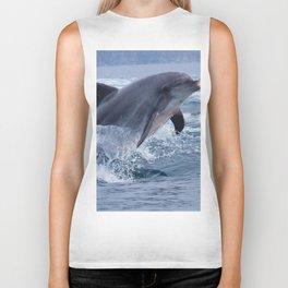 Bottlenose dolphin Biker Tank