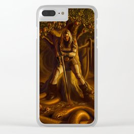 The Serpent and the Rose Clear iPhone Case