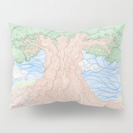 Roots and Leaves Pillow Sham