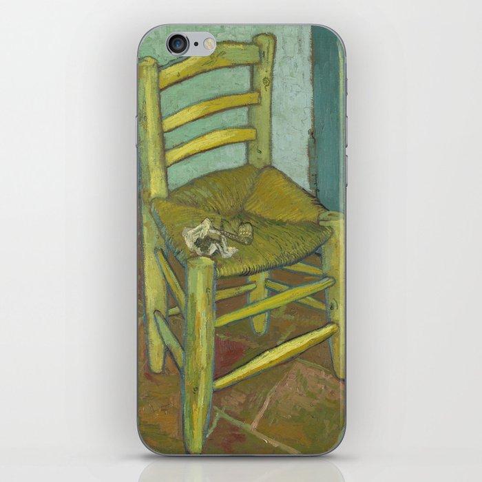 Van Gogh's Chair iPhone Skin