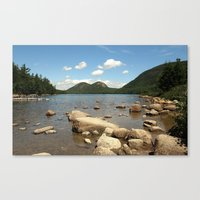 maine Canvas Prints featuring Maine by Raymond Earley