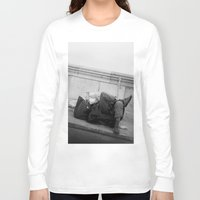 chill Long Sleeve T-shirts featuring chill by dominiknawrocki
