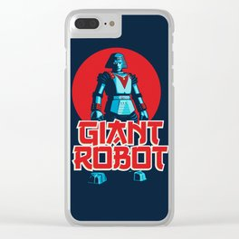 Giant Robot Clear iPhone Case