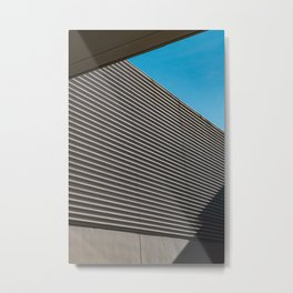minimalistic architecture city building Metal Print